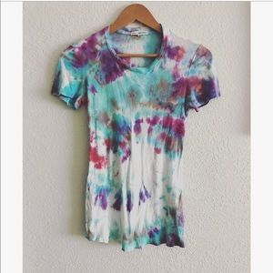 James Perse Tye dye t-shirt sz: 2